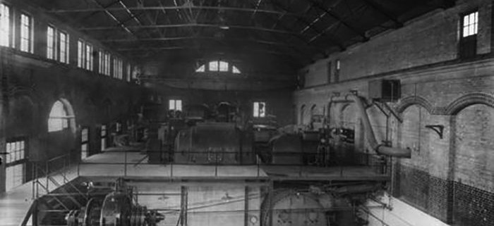 city electric power station