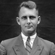 Queensland State Archives image of Arthur Bell, employee of the Department of Agriculture and Stock.